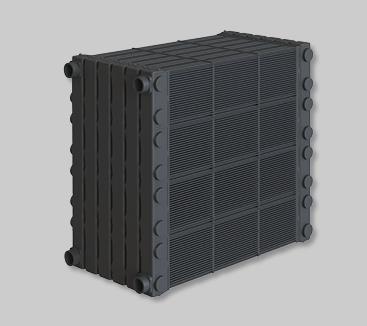 Neu - von Calorplast Wärmetechnik der Kunststoff-Wärmetauscher Evolution Serie