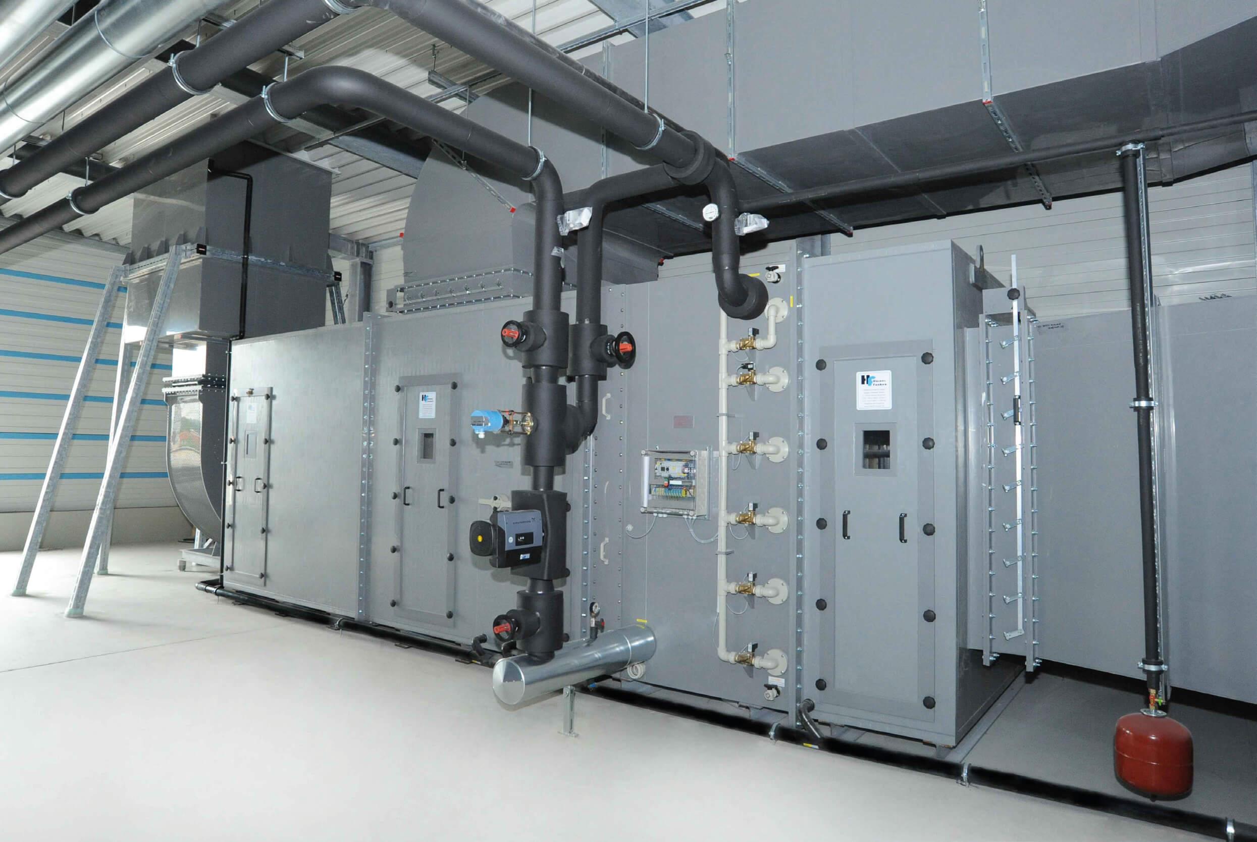 Wärmetauscher Installation - CALORPLAST Wärmetechnik