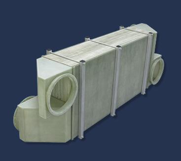 Kunststoff-Gas-Gas-Wärmetauscher