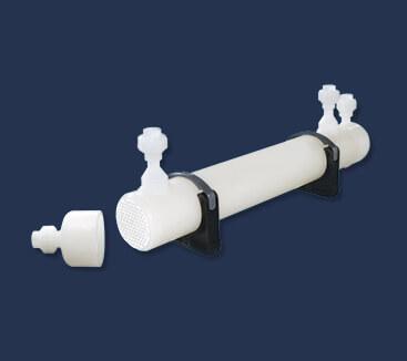 Kunststoff-Rohrbündel-Wärmetauscher